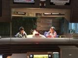 『たまには2人で話しませんか?』に出演する(左から)山崎裕太、内山信二(C)TBSラジオ
