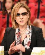 27日放送のTBS系『中居正広のキンスマスペシャル』に出演するX JAPAN・YOSHIKI (C)TBS