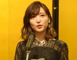 受賞スピーチで涙ぐむ神田沙也加 (C)ORICON NewS inc.