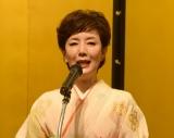 演劇賞を受賞した戸田恵子=『第43回 菊田一夫演劇賞』授賞式 (C)ORICON NewS inc.