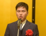 演劇賞を受賞した原田諒=『第43回 菊田一夫演劇賞』授賞式 (C)ORICON NewS inc.