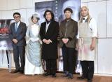 (左から)三谷幸喜、優香、片岡愛之助、藤井隆、迫田孝也 (C)ORICON NewS inc.