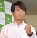 ドラマ『プロデューサーK3』の囲み取材会に出席した石黒賢 (C)ORICON NewS inc.