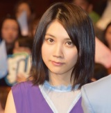 映画『恋は雨上がりのように』完成披露試写会に出席した松本穂香 (C)ORICON NewS inc.
