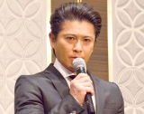会見を行ったTOKIO・山口達也 (C)ORICON NewS inc.