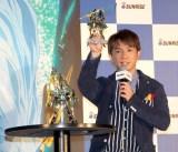 ガンダムシリーズの新作発表会に出席した濱口優 (C)ORICON NewS inc.