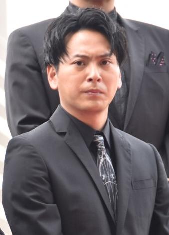 映画『ウタモノガタリ-CINEMA FIGHTERS project-』完成披露上映会の舞台あいさつに出席した山下健二郎 (C)ORICON NewS inc.