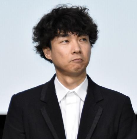 映画『ウタモノガタリ-CINEMA FIGHTERS project-』完成披露上映会の舞台あいさつに出席した松永大司監督 (C)ORICON NewS inc.