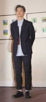 『生誕60周年記念くまのパディントン展』オープニングイベントに出席した瀬戸康史 (C)ORICON NewS inc.