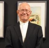 連載50周年記念『あしたのジョー展』の内覧会に出席したちばてつや氏 (C)ORICON NewS inc.