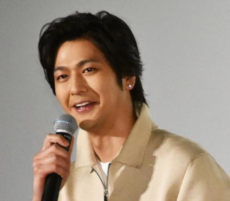 映画『となりの怪物くん』初日舞台あいさつに出席した速水もこみち (C)ORICON NewS inc.