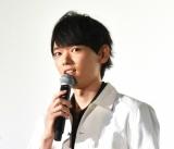 映画『となりの怪物くん』初日舞台あいさつに出席した古川雄輝 (C)ORICON NewS inc.