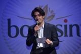 俳優・大谷亮平が、ベルジャポンのチーズ『ブルサン』へのラブレターを朗読