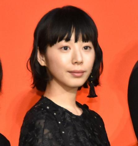 映画『友罪』の完成披露舞台あいさつに出席した夏帆 (C)ORICON NewS inc.