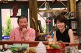 28日放送のカンテレ『おかべろ』に出演する木村祐一、吉瀬美智子(C)カンテレ