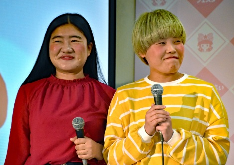 人気漫画『古屋先生は杏ちゃんのモノ』の胸キュンシーン再現に挑んだガンバレルーヤ