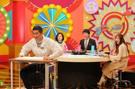 NHK総合『境界調査バラエティー ニッポンのワケメ』5月1日放送、MCの麒麟(田村裕)(C)NHK