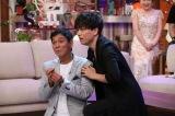 山崎育三郎とアドリブでミュージカル(C)NHK