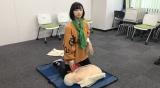 赤十字の動画『ミラクルヒーローズ』の加藤小夏のオフショット