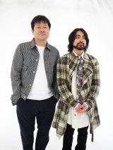 MBS・TBSドラマ『やれたかも委員会』に出演する(左から)佐藤二朗、山田孝之 (C)ORICON NewS inc.