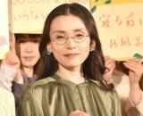 映画『妻よ薔薇のように 家族はつらいよIII』のイベントに出席した中嶋朋子 (C)ORICON NewS inc.
