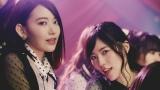 (左から)宮脇咲良、松井珠理奈=AKB48の52枚目シングル「Teacher Teacher」MVより(C)AKS/キングレコード