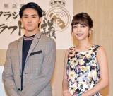 (左から)白石隼也、松田るか (C)ORICON NewS inc.