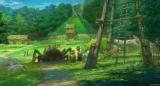 愛知・長久手で2022年度中の開業を目指す『ジブリパーク』もののけの里エリア(イメージ)(C)Studio Ghibli