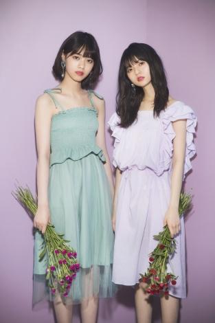 サムネイル ファッションブランド「GRL」の新ミューズに就任した西野七瀬(左)と齋藤飛鳥