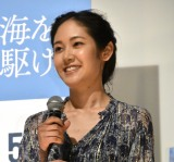 阿部純子=映画『海を駆ける』完成披露試写会 (C)ORICON NewS inc.