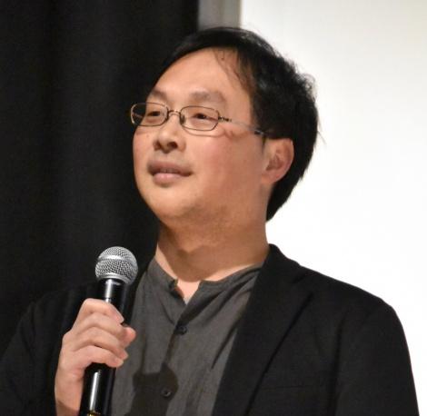 深田晃司監督=映画『海を駆ける』完成披露試写会 (C)ORICON NewS inc.