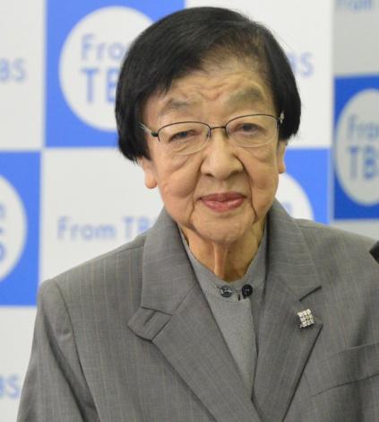 TBSドラマ特別企画『あにいもうと』会見に出席した石井ふく子プロデューサー (C)ORICON NewS inc.