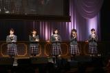 8代目生徒会長の新谷ゆづみ(中央)ら新生徒会