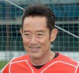 スーパーラグビー日本チームサンウルブズ激励訪問に出席した山下真司 (C)ORICON NewS inc.