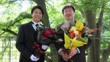 5月7日に誕生日を迎えた上川隆也と佐藤二朗=『執事・西園寺の名推理』で共演(C)テレビ東京