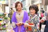 MBS『ちちんぷいぷい』に出演する(左から)島茂子、水谷千重子