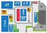 『スポル品川大井町』路面マップ