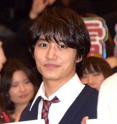 映画『兄友』の完成披露舞台あいさつに出席した松岡広大 (C)ORICON NewS inc.