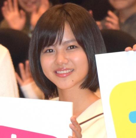 映画『兄友』の完成披露舞台あいさつに出席した松風理咲 (C)ORICON NewS inc.