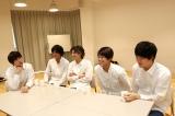 旗揚げ公演『SHIRO TORA 〜beyond the time〜』への想いを語る男劇団 青山表参道Xのメンバー(C)Deview