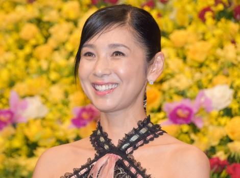 映画『終わった人』の完成披露記者会見に出席した黒木瞳 (C)ORICON NewS inc.