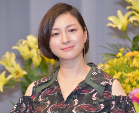 映画『終わった人』の完成披露記者会見に出席した広末涼子 (C)ORICON NewS inc.