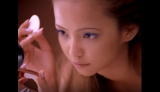 "『NAMIE AMURO×KOSE ALL TIME BEST Project』第2弾 1997年『ヴィセ』のミューズとして""茶肌・細眉""メイクでKOSEのCMに初登場した安室奈美恵のワンシーン"