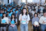 フォトブック『永野芽郁 in 半分、青い。』発売記念イベントを開催した永野芽郁