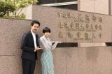 正門前でにっこり (C)2018映画「恋は雨上がりのように」製作委員会(C)2014 眉月じゅん/小学館