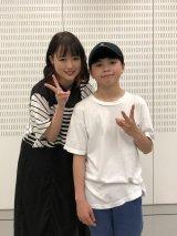 大原櫻子(左)が新曲で気鋭のキッズダンサーとコラボ。三浦大知も絶賛する若き才能・TAKERU(右)が5月11日放送、『ミュージックステーション』に初登場(C)テレビ朝日
