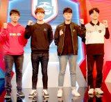 韓国の各チームの代表(左から)シンチュー氏、ホー氏、ウィチャン氏、ハウル氏 (C)ORICON NewS inc.