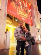 米ロサンゼルス・ハリウッドで現地時間5月10日、映画『ハン・ソロ/スター・ウォーズ・ストーリー』ワールドプレミアで映画を鑑賞したファン (C)ORICON NewS inc.