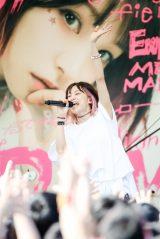 フリーライブ『LiVE in Smilepark Allfree !!』を開催したLiSA