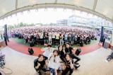 LiSAフリーライブ『LiVE in Smilepark Allfree !!』の模様